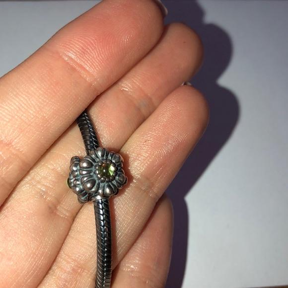 7eca92288 Pandora Jewelry | Birthday Bloom August Charm Retired | Poshmark